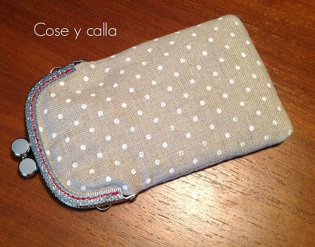 Cose y calla : ...Tutorial: Funda con Boquilla! with pattern