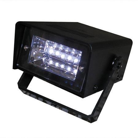 Battery-Operated LED Strobe Light, Black