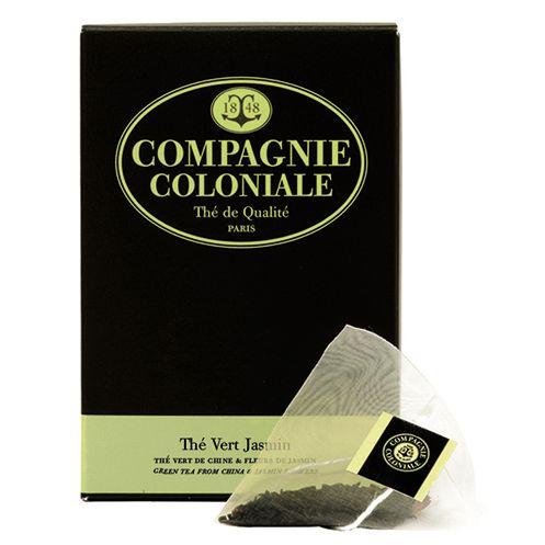 Thé Vert au Jasmin - Compagnie Coloniale - Etre Gourmand