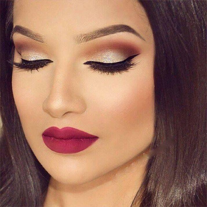 Maquillaje Para Vestido Rojo Maquillaje En 2019 Pinterest Eye