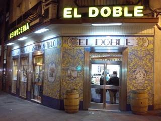 El Doble. C/José Abascal, 16, esquina Ponzano - Madrid
