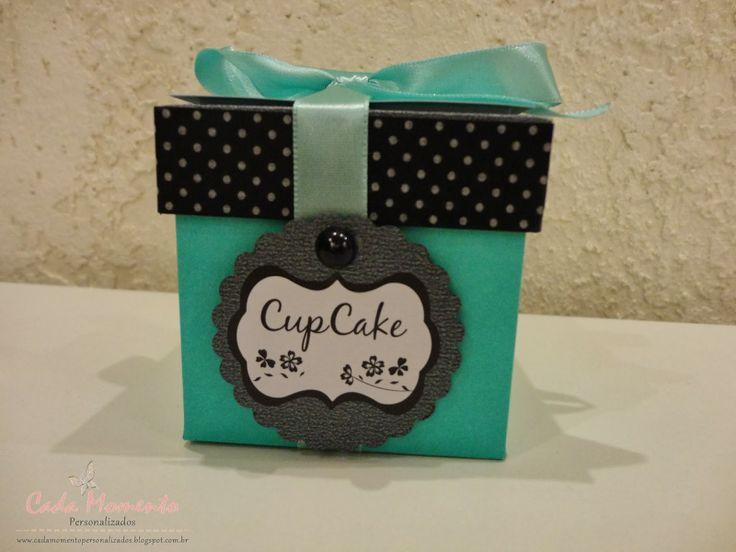 Festa Glamour - Caixa Cupcake