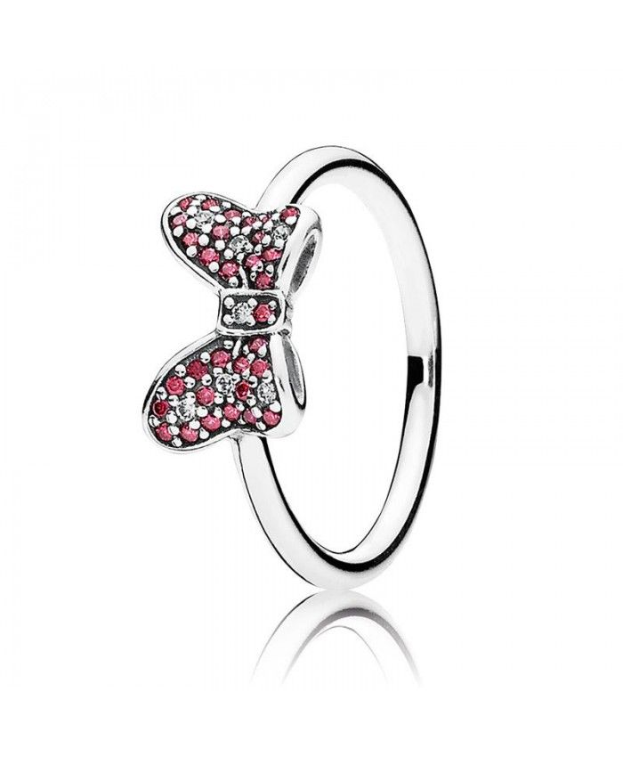 Pandora Disney Minnie Sparkling Bow Bague | Pandora charms disney ...