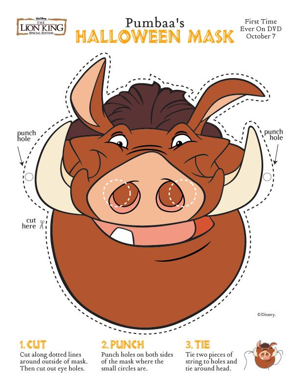 pumba mask costumes costumes and