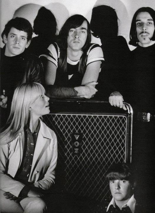 The Velvet Underground:  Lou Reed, Sterling Morrion, John Cale, Nico and Maureen Tucker.