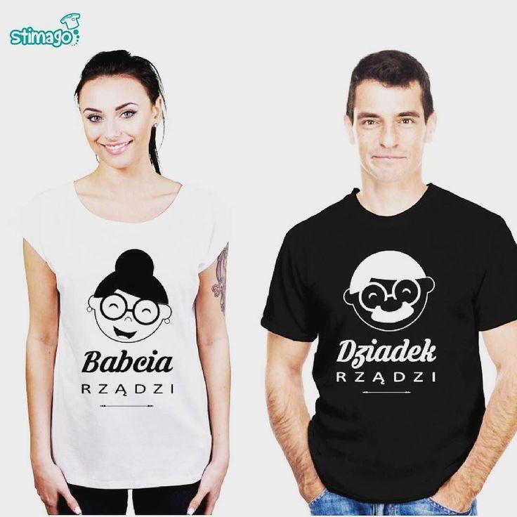 Nowe wzory koszulki dla babci i dziadka #tshirt #znadrukiem #koszulka #babcia #dziadek #rządzi #dzienbabci #dziendziadka #prezent #stimagopllink w BIO