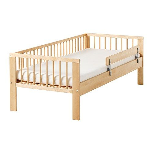 IKEA - GULLIVER, Bed frame with slatted bed base, , Solid wood, a hardwearing natural material.Slatted bed base for good air circulation.