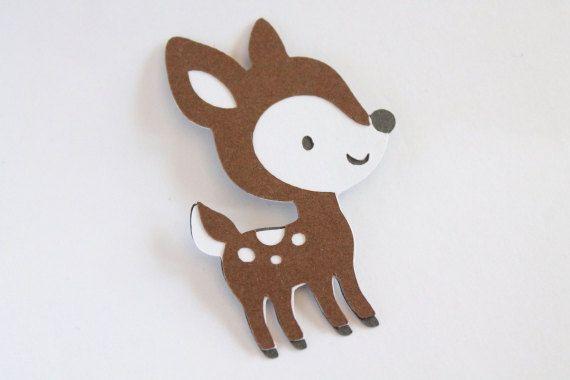 Deer Die Cut Woodland Creature Die Cut By