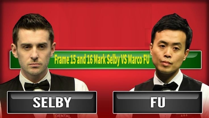 Frame 15 and 16 Mark Selby VS Marco FU World Snooker Championship