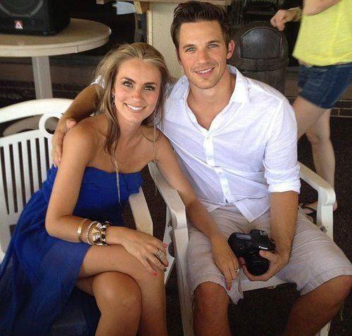 Angela Stacy (and husband Matt Lanter) - what a beautiful couple!!
