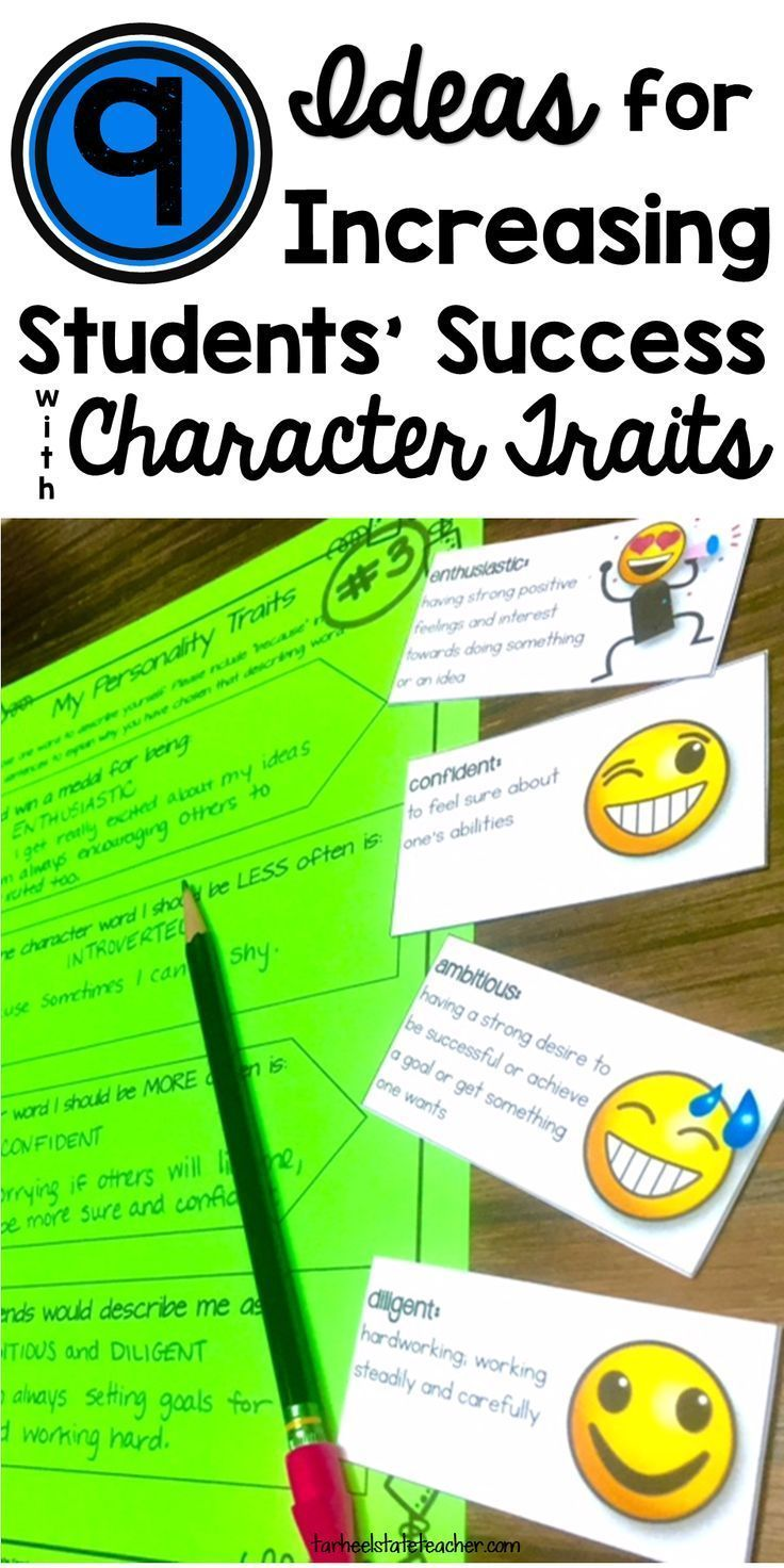 9 Ideas and Activities to incorporate into your lessons as you try to increase students' success with character traits. Key take-away--why my lesson failed and THEY NEED YOUR HELP with scaffolding to be successful with this skill!