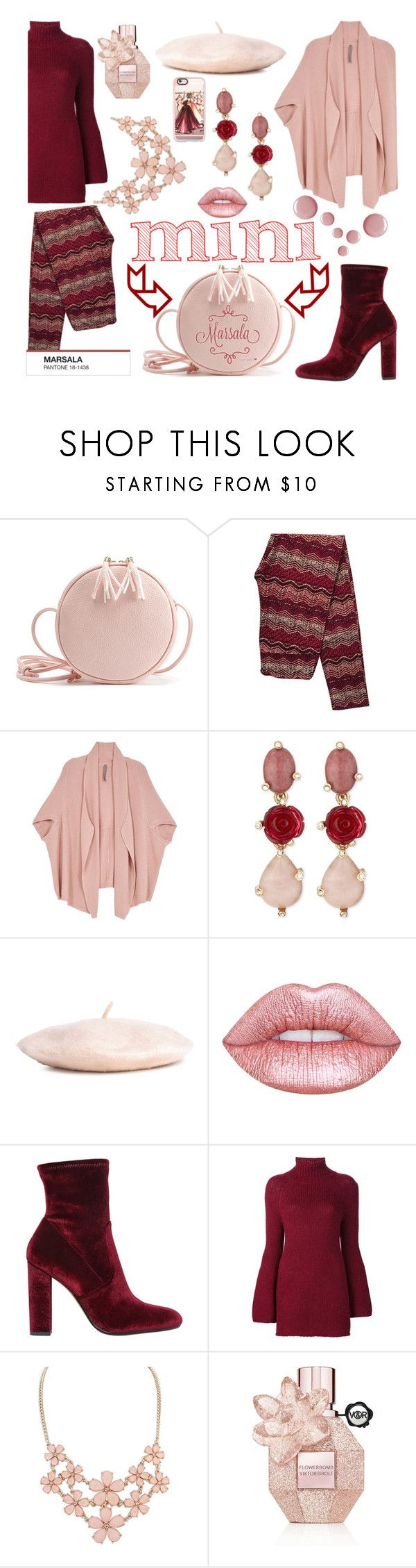 """Eeny Meeny Miny Moe, Catch A Mini Bag Anyway You Know & Never Let Go"" by sharee64 ❤ liked on Polyvore featuring Melissa McCarthy Seven7, Oscar de la Renta, Lime Crime, Steve Madden, Rosetta Getty, Viktor & Rolf, Casetify and plus size clothing"