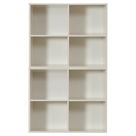 Buy Stompa Uno S Plus 2 Unit Storage Combination, White Online at johnlewis.com