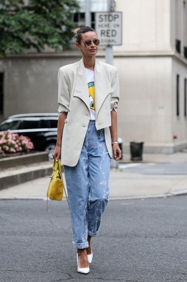 Как носить «джинсы бойфренда» этой осенью 5