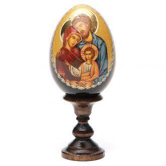 Holy Family egg icon printed   online sales on HOLYART.co.uk