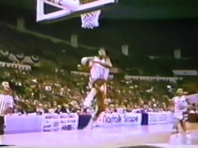 1974: 23 year old Julius Erving lead the New York Nets to their first ABA championship winning the first of 3 ABA MVP's in a row. Dr. J who is from Long Island was in his first season playing for New York after having been traded by the Virginia Squires who'd been in some financial trouble. Six years later during the 1980 NBA Finals the Doctor pulled off his famous behind-the-backboard palmed reverse layup a move I consider the single greatest in the history of basketball. Brent Musberger…