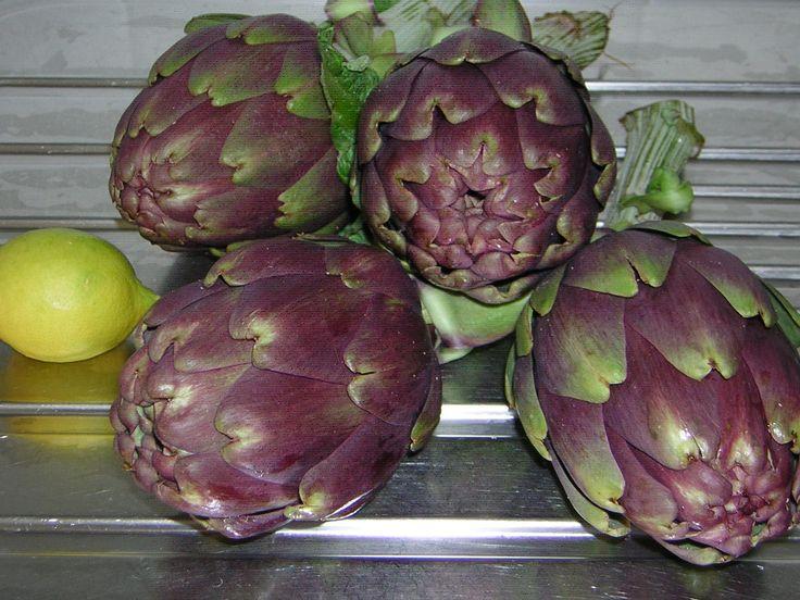 ingrediente principale per i carciofi al cartoccio