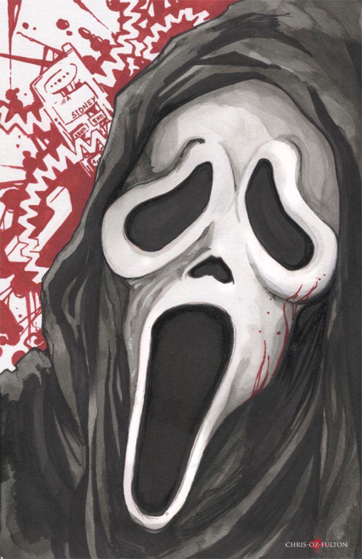 Best 20+ Ghostface scream ideas on Pinterest   Best recent horror ...