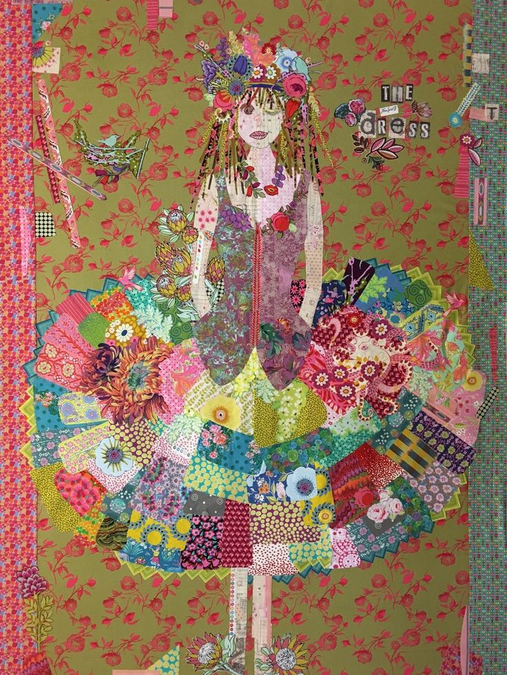 Collage Kits By Laura Heine Fabric Art Applique Quilts