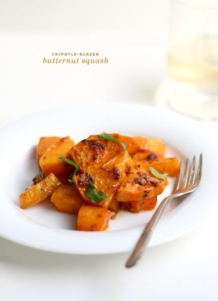 Chipotle-Glazed Butternut Squash (from @Melissa Coleman - FauxMartha)