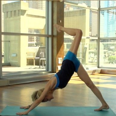 Yoga CrossFit Workout Routine - Shape Magazine @Heidi Kristoffer sports her #solowstyle while showing you how to get the best of both worlds at @Shape_Magazine
