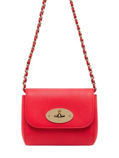 Mulberry Mini Lily Grained Leather Shoulder Bag on shopstyle.com