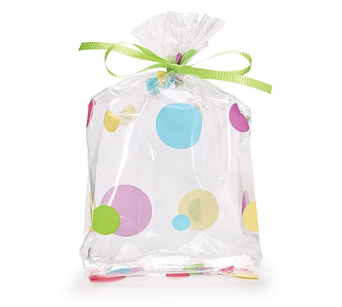 Pair a DIY Easter Candy Bag Header Card (like the one in our previous pin) with our #burtonandburton Dotty Cello Bag to make your Easter treats even cuter. #happyeaster #eastertreats