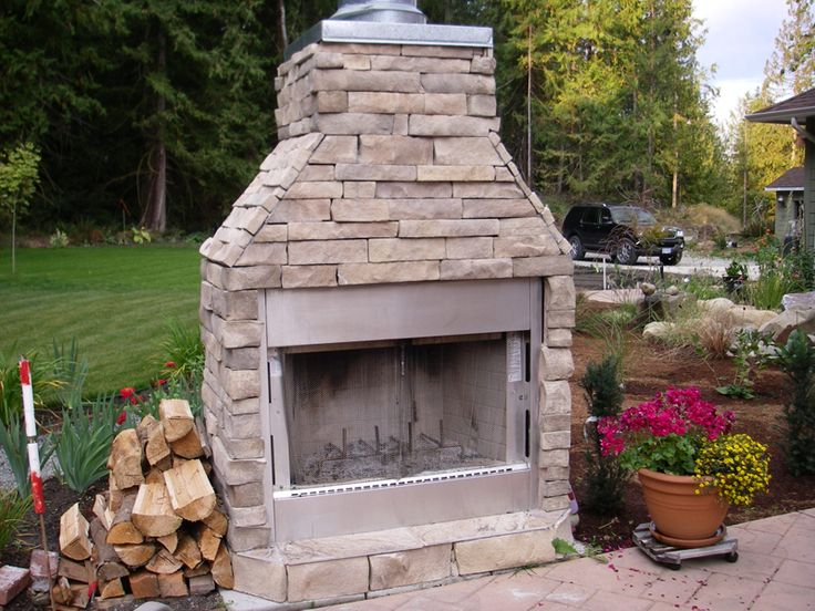 Wednesday Word On Interior Design Top 5 Musts For An Outdoor Kitchen Outdoor Wood Burning Fireplacestanding