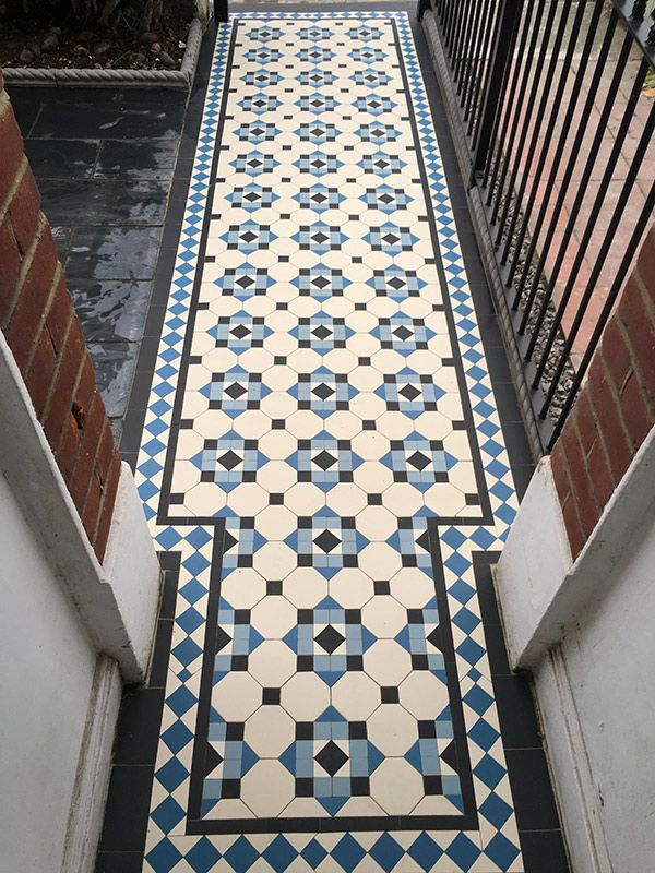 15 Bathrooms With Amazing Tile Flooring Mosaic Floor Tile Victorian Hallway Tiles Victorian Tiles