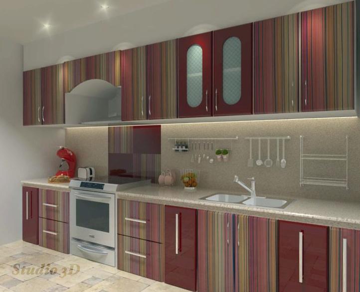 Modular Kitchen Using Merino Laminates Studio 3d Pinterest Cabinets