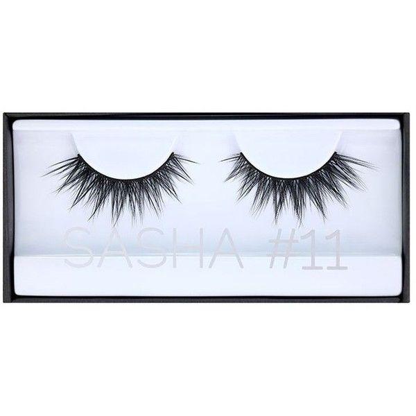 HUDA BEAUTY Classic Lash Sasha featuring polyvore, beauty products, makeup, eye makeup and false eyelashes