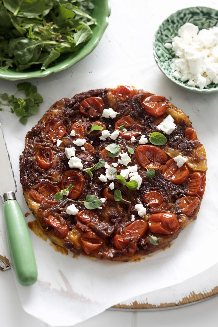 It's all about the tomatoes with Tomato Tart with Mutti Baby Roma Tomatoes http://www.muttiparma.com.au/recipes