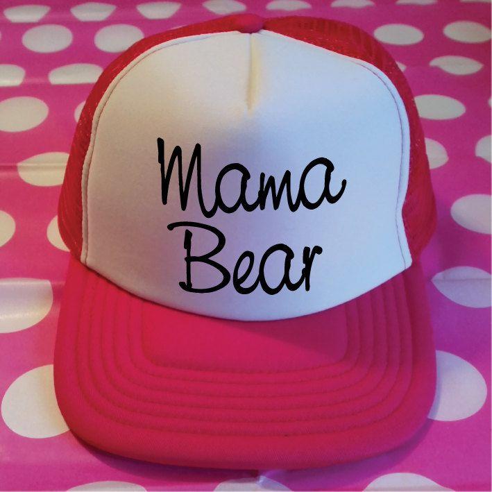 Mama Bear Trucker Hat. Mama Bear Hat. Mama Hat. Momlife. Baby Shower Gift. Mom To Be. New Mom Gift. Maternity Gift. Pregnancy Gift. by SoPinkUK on Etsy