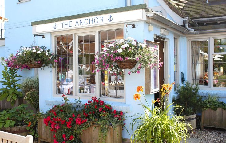 Gorgeous exterior of the Anchor hotel in Walberswick, Suffolk. #exterior #stunningexterior #stunning #hotel #pub #restaurant #walberswick #suffolk #travel #seeengland #travelengland #traveluk #holiday #vacation #holidaygoals #travelgoals