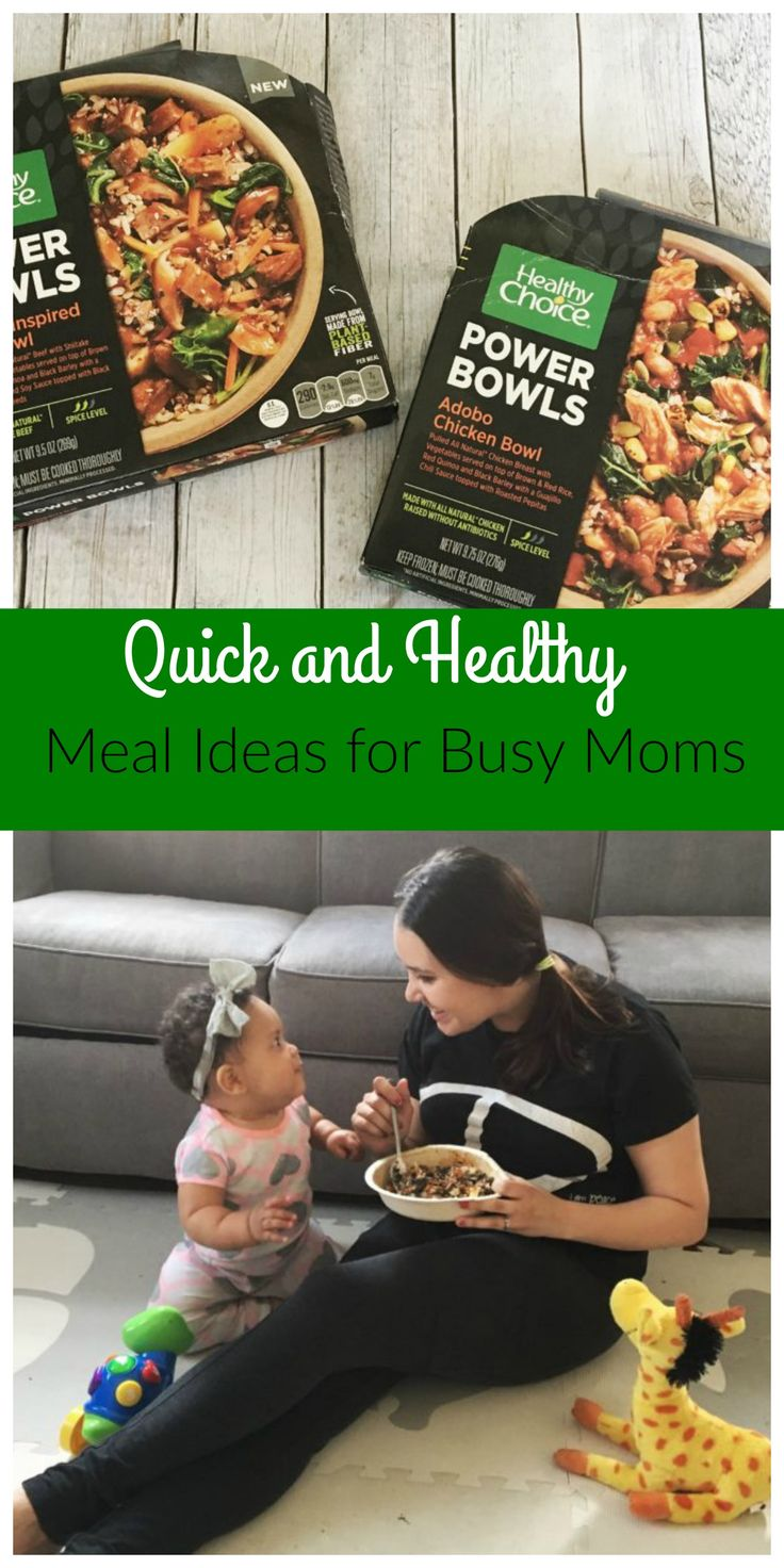 Healthy Eating Tips: Quick and Healthy Meal Ideas For Busy Moms #ad #HCMeals4Women