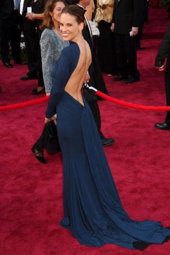 Oscars     Open backs are great (except for the no bra thing :/)