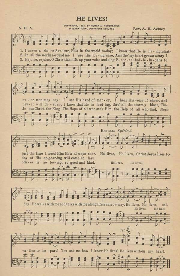 THE IMPORTANCE OF HYMNS AND GOSPEL SONGS IN MODERN WORSHIP
