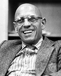 Michel Foucault (Poitiers, 1926) was a French philosopher, historian of ideas, social theorist, philologist and literary critic. His theories addressed the relationship between power and knowledge, and how they are used as a form of social control through societal institutions. Though often cited as a post-structuralist and postmodernist, Foucault presented his thought as a critical history of modernity.