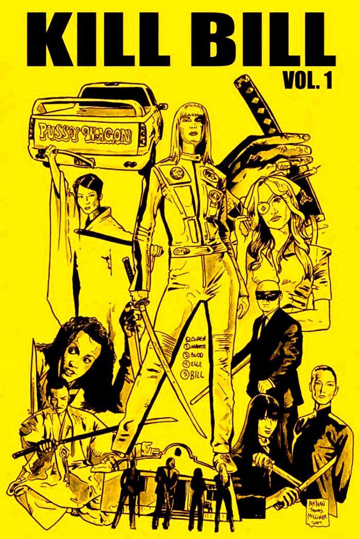 Pin By Backstrom On Kill Bill Kill Bill Kill Bill Vol 1 Movie Posters