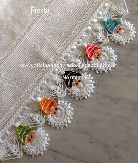 "OFICINA DO BARRADO: Croche - Barrado ""Noel Color"" ..."