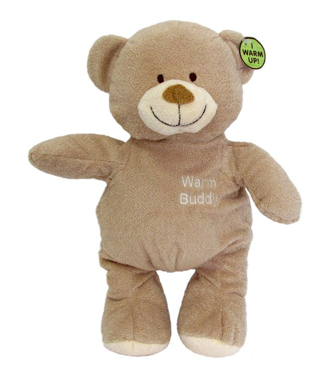 "Super cosy ""warm up"" buddy for babies! http://www.sendateddy.net/warm-buddy.php#!/~/product/category=6308284&id=28616624 #sendateddy   #safeteddybears"