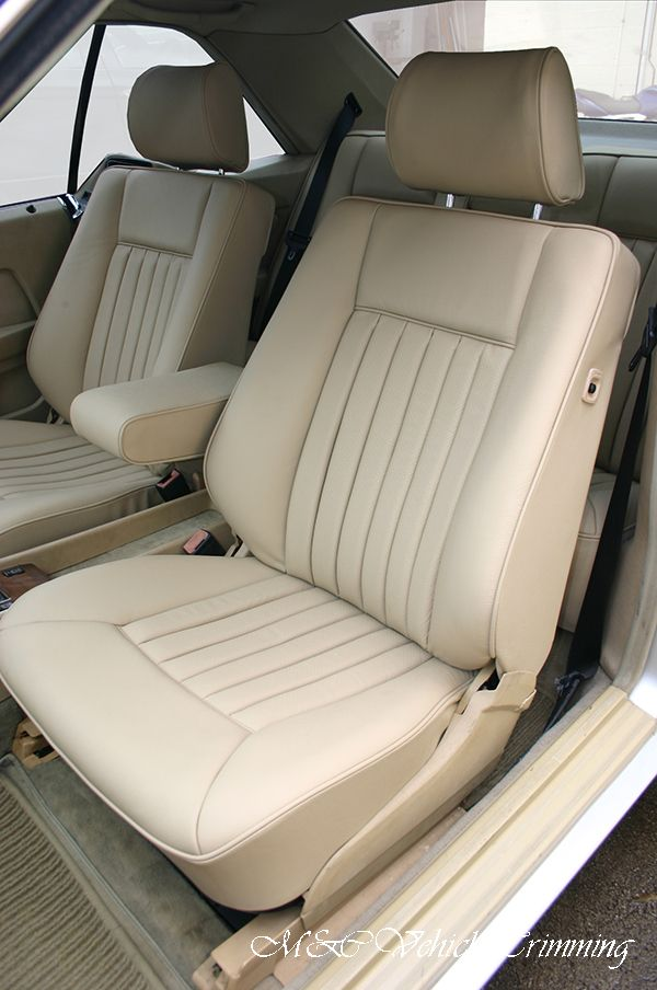 M C Vehicle Trimming Re Upholstered The Front And Rear Seats