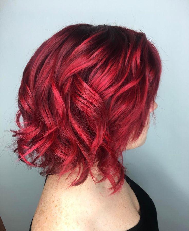 bright red hair ideas