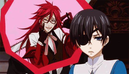 Grell doesn't even have to be there to annoy Ciel.