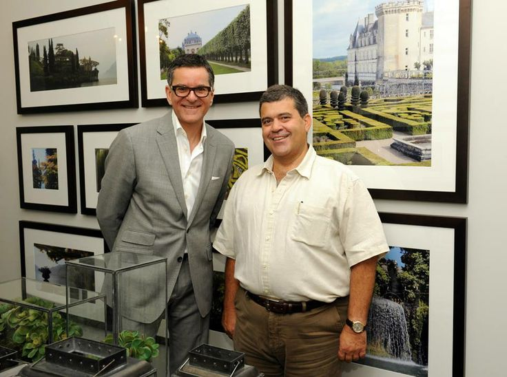 Carlos Jardino (PCM Home Construction Inc) And Brian Gluckstein (Gluckstein Home) at the 2013 Princess Margaret Oakville Show Home Launch Party