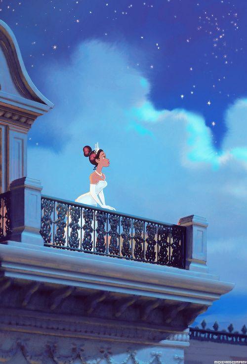 Engraçado que me identifico muito com a Tiana, sonhos parecidos, sem tempo pra nada, só pra sonhar e ir atras do seu sonho!!!