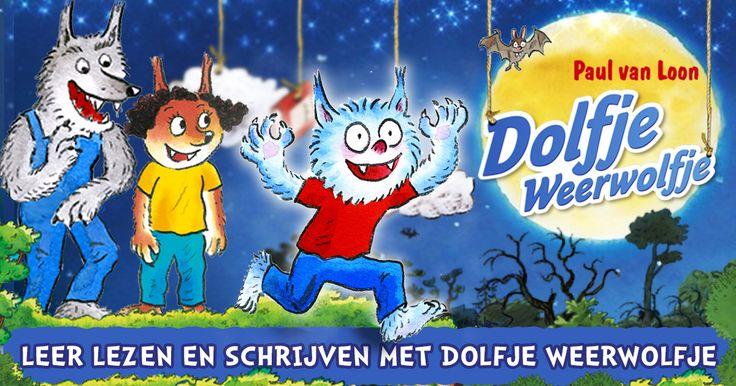 Leren lezen en schrijven met Dolfje Weerwolfje. Wil jij dit ook doen? Ga naar http://dolfjeweerwolfjespel.organiq.nl/