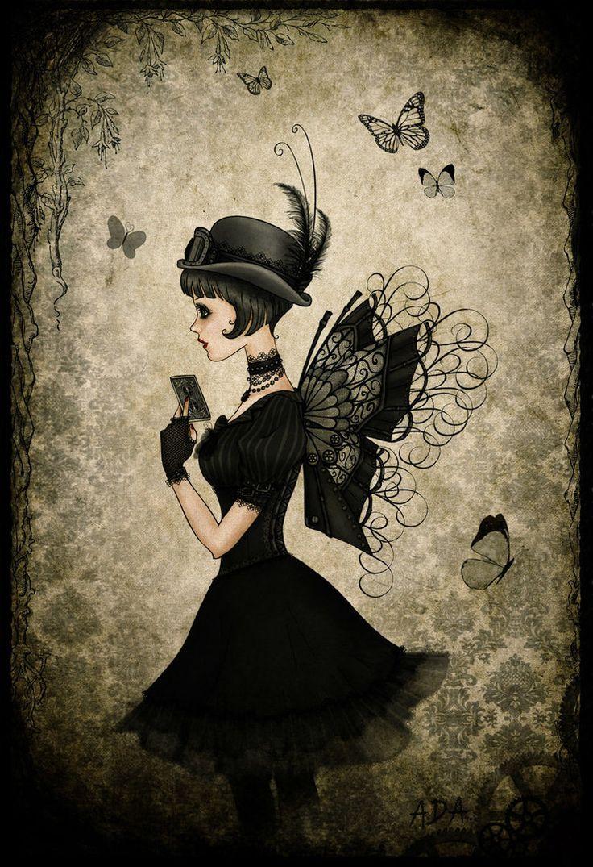 Cute in black butterfly girl http://htctokok-infinity.hu , http://galaxytokok-infinity.hu , http://iphonetokok-infinity.hu