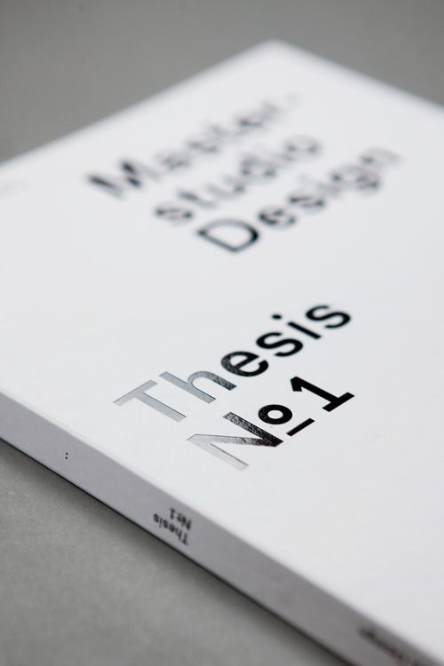 master thesis web design