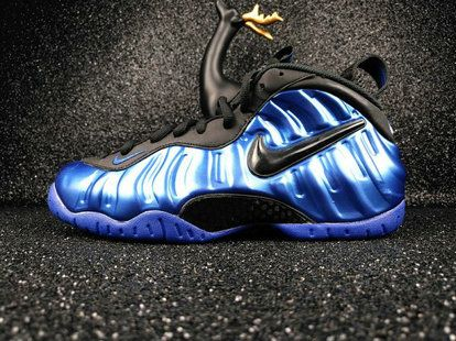 Nike Air Foamposite One Shop with Confidence Nike Air Foamposite One Premium Sharpie -Blue 2015 Release